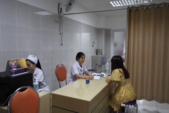 Bệnh nhân được tư vấn tận tình để đưa ra hướng điều trị