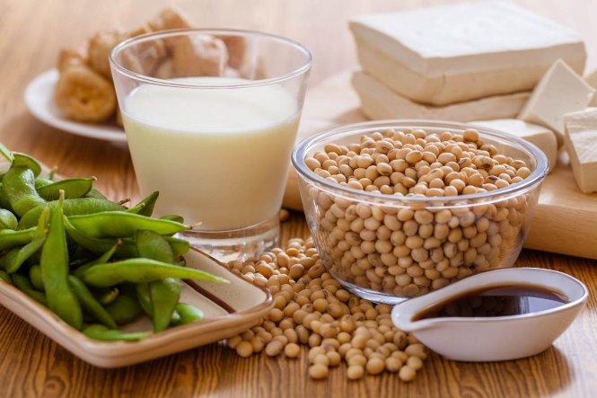 Thực phẩm được chết biến từ đậu nành