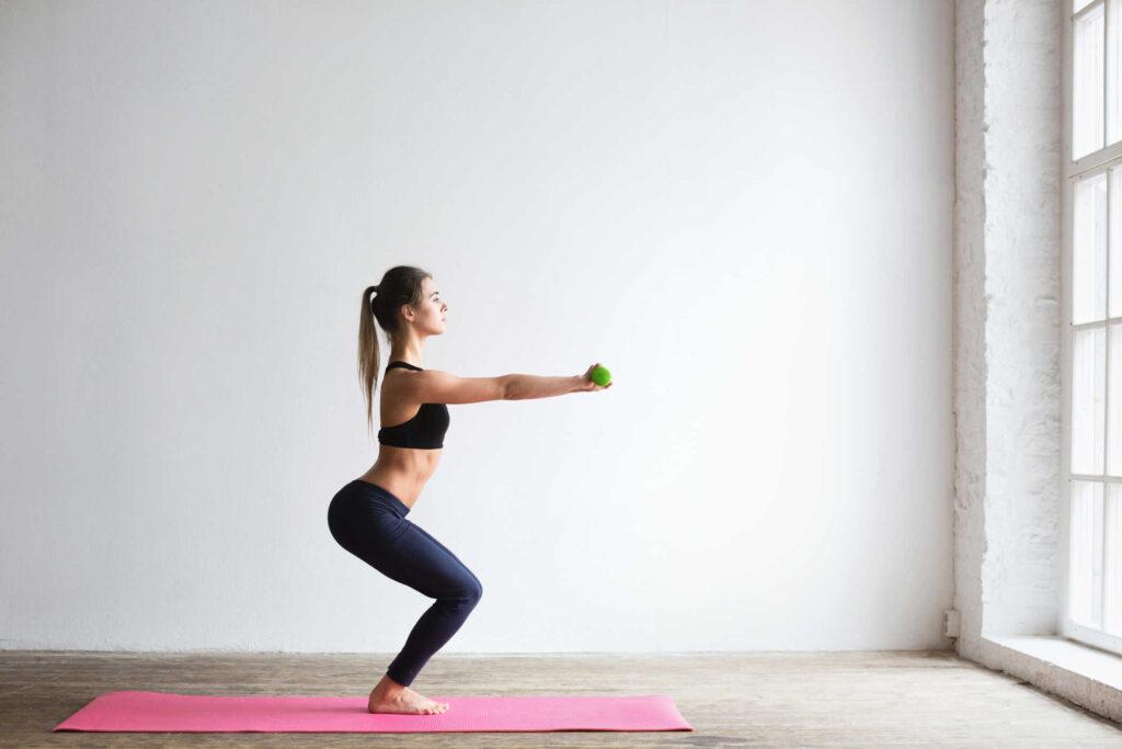 • Tập các bài tập tăng cường cơ sàn chậu