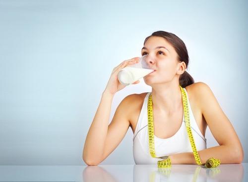 Tăng kích thước bằng cách uống sữa thường xuyên