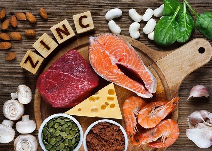 thực phẩm chứa zinc là cách tăng chất lượng tinh trùng