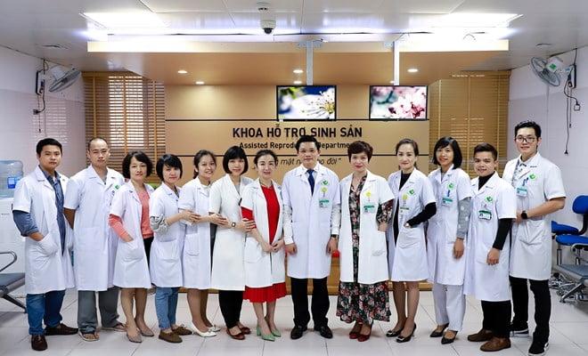 Khoa Hỗ trợ sinh sản và Nam học - Bệnh viện Phụ Sản Hà Nội